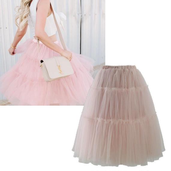 アモーレチュールミディスカート *Pink