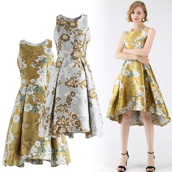 オールオブフラワーブルームドレス