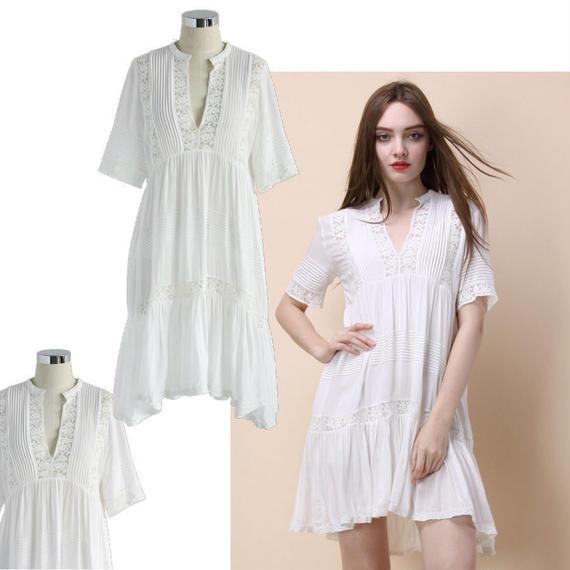 エタニティホワイトドリードレス