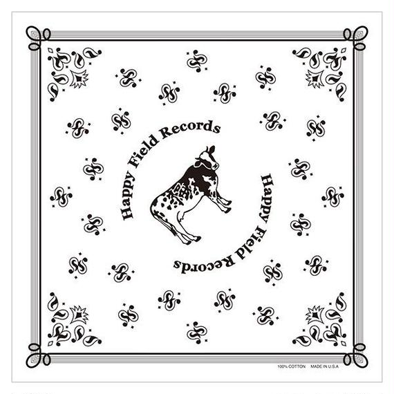 Happy Field Records Handkerchief