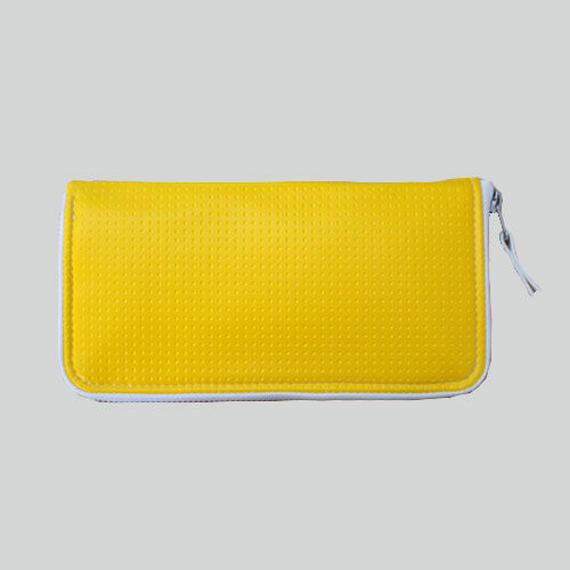 "024 WALLET ""SEN-RYO"" _yellow"
