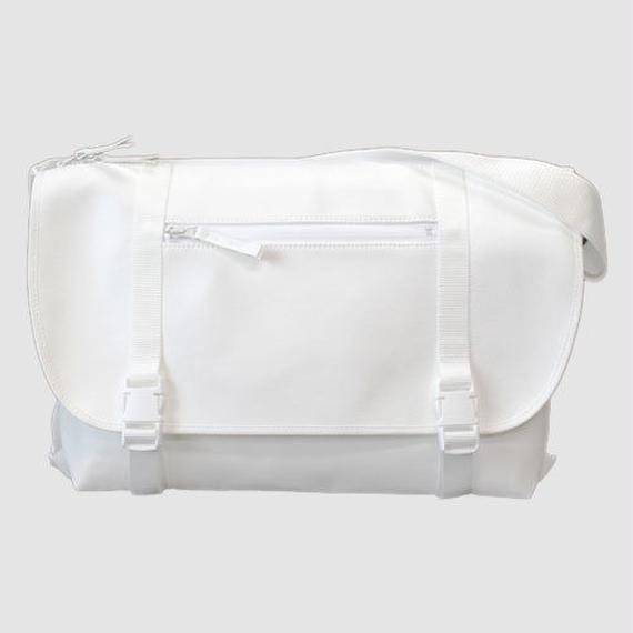 030 MESSENGER BAG _white