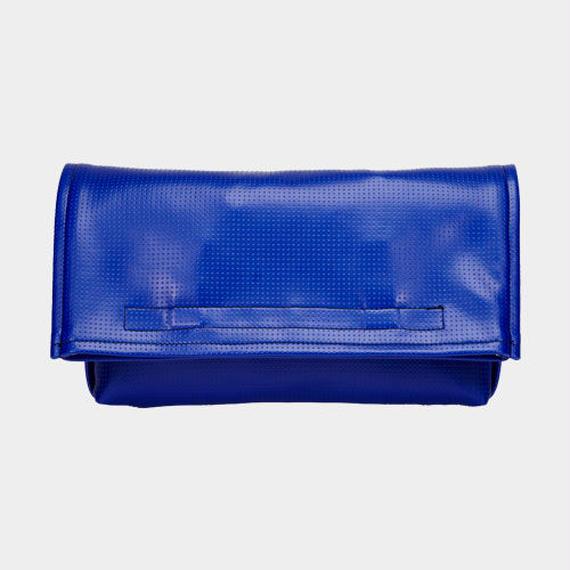 002 CLUTCH BAG(2WAY) _blue