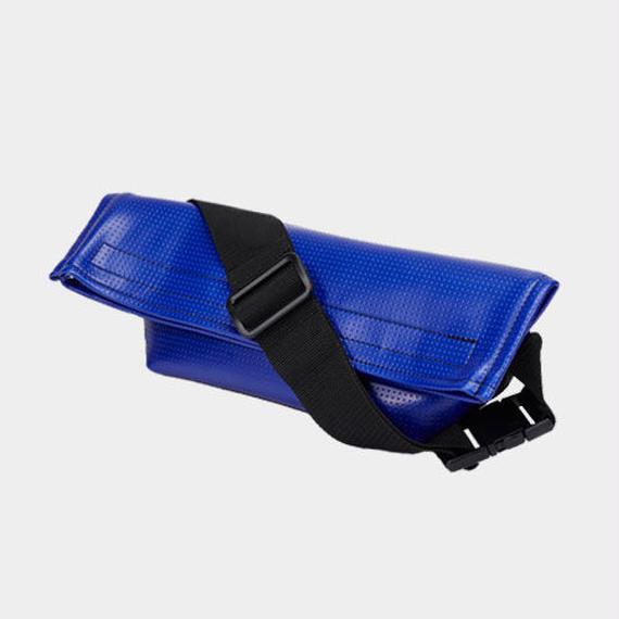 Volleyballer's Body Bag/バレーボール パンチングレザー ブルー