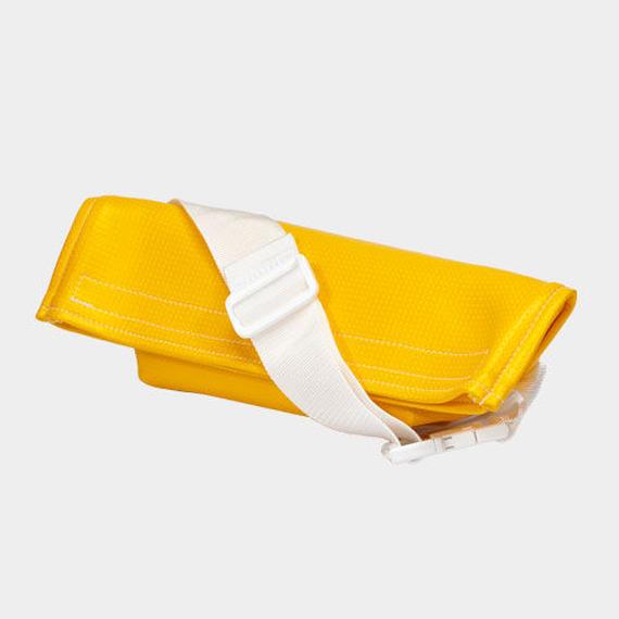 Volleyballer's Body Bag/バレーボール パンチングレザー イエロー
