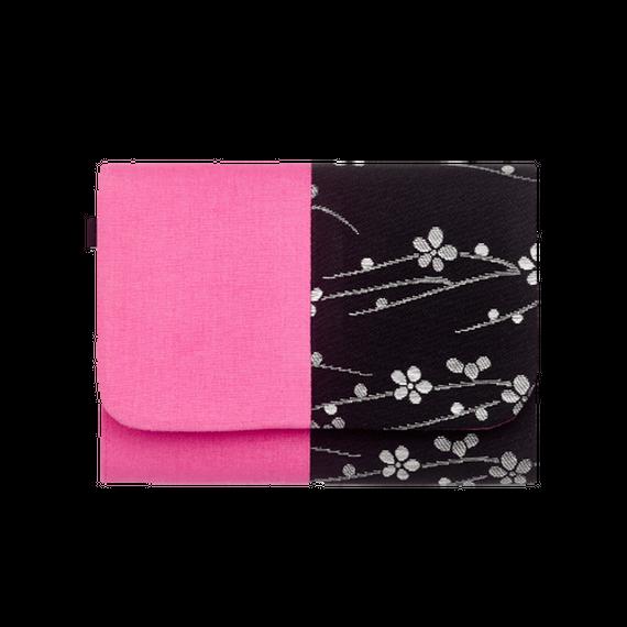 蜂の巣 - hachi no su - KUROGIN×色いろ 梅柄×桃色