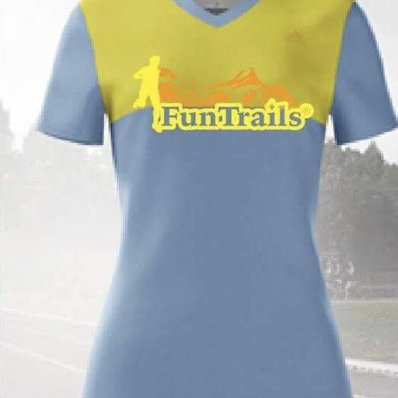 【adidas製:FunTrailsオリジナルTシャツ2018】- ウィメンズ 《送料無料》