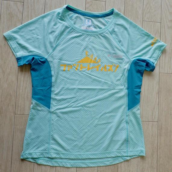 【FunTrails オリジナルTシャツ2017】《Sea Ice》ウィメンズ タイタンウルトラショートスリーブシャツ