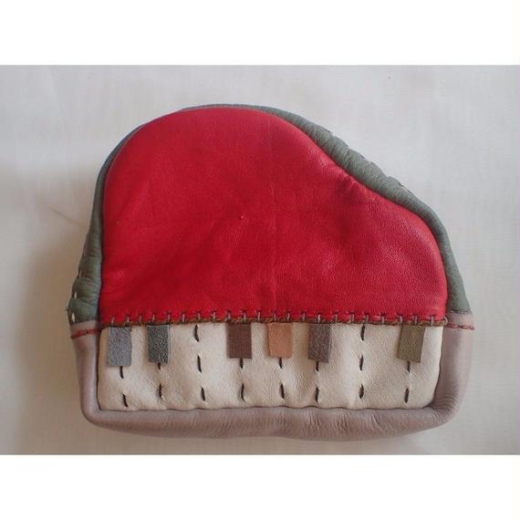 楽器ポーチ piano 赤(大)