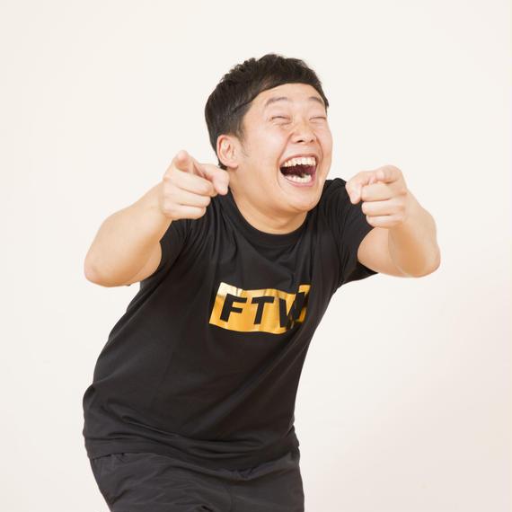 FTW Box Logo Foil Print T-shirt/F1101T17