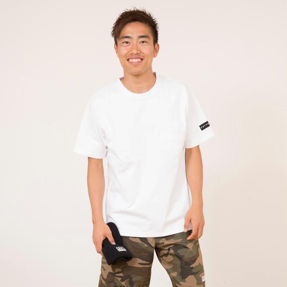 Heavyweight logo patch T-shirt/F1105T17