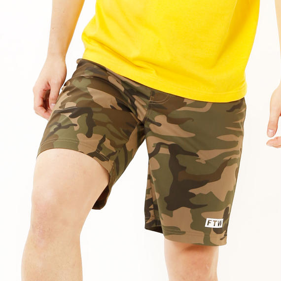 Stretch cloth shorts/F1031B11