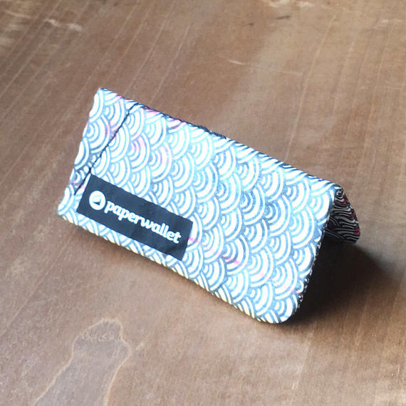 【POU011GJA】paperwallet/ペーパーウォレット-MAGIC COIN POUCH-TOKYO WAVES タイベック® Tyvek® 紙の財布
