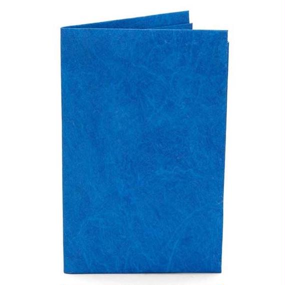 paperwallet-Solid Card Holder-BLUE-SCH003BLU