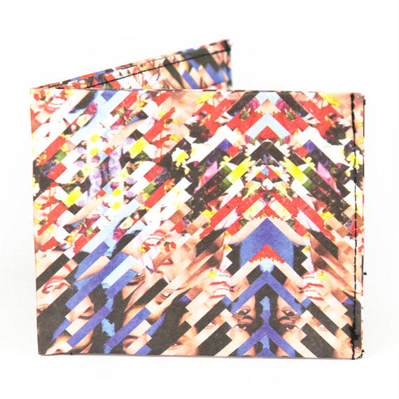 【WAL004HSH】paperwallet/ペーパーウォレット-タイベック素材 紙の財布-THE CLASSIC-ARTIST SEWN WALLET-HADRIEN DELPEUCH