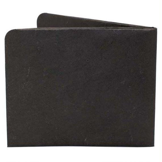 【SOL001BLA】paperwallet/ペーパーウォレット-Solid Wallet-BLACK タイベック素材 紙の財布