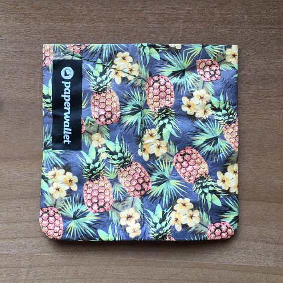 【POU012PNP】paperwallet/ペーパーウォレット-MAGIC COIN POUCH-TROPICAL タイベック® Tyvek® 紙の財布