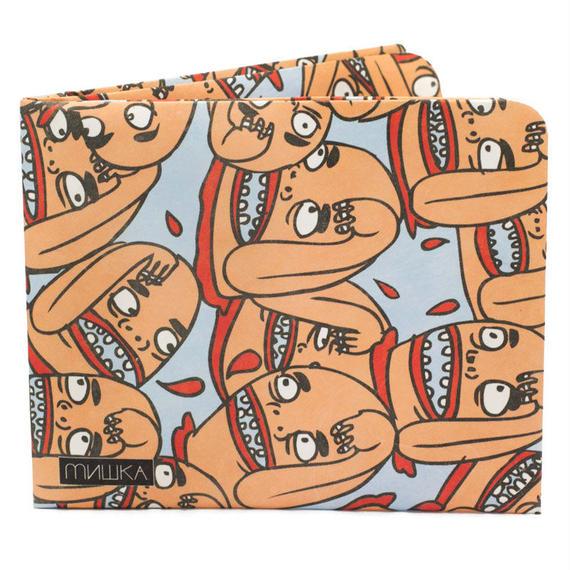 【ART031TWE】paperwallet/ペーパーウォレット-Artist Wallet-MISHKA x TWERPS! タイベック素材 紙の財布