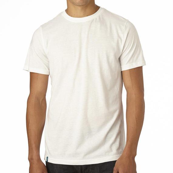 PACT/パクト【ES1-MSC-WHT】メンズ Tシャツ MEN'S EVERYDAY CREW NECK T-SHIRTS WHITE 白 クルーネックTシャツ
