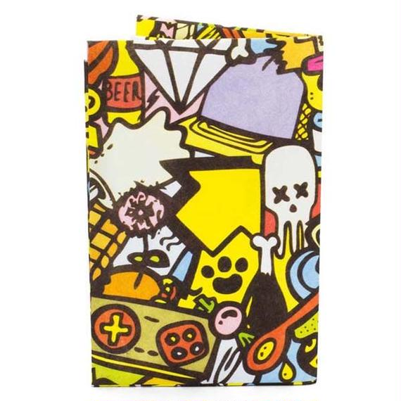 【ACH008CHA】paperwallet/ペーパーウォレット-Artist Card Holder-CHATO
