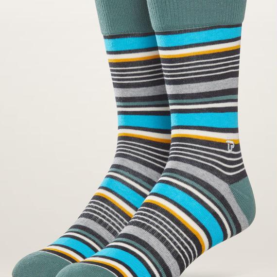 PACT(パクト メンズ)【EA1-MSP-UNS-1S】MEN'S-Premium Crew Sock-オーガニックコットン 靴下