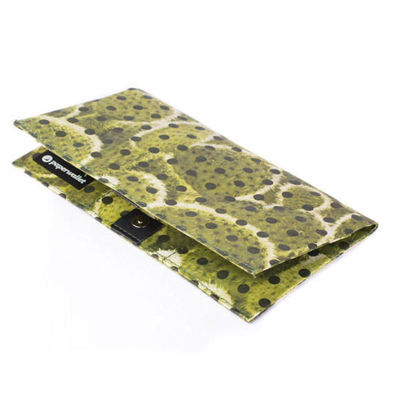【FEM013PCA】paperwallet/ペーパーウォレット-タイベック素材 クラッチ 財布-CLUTCH-POLKACTUS