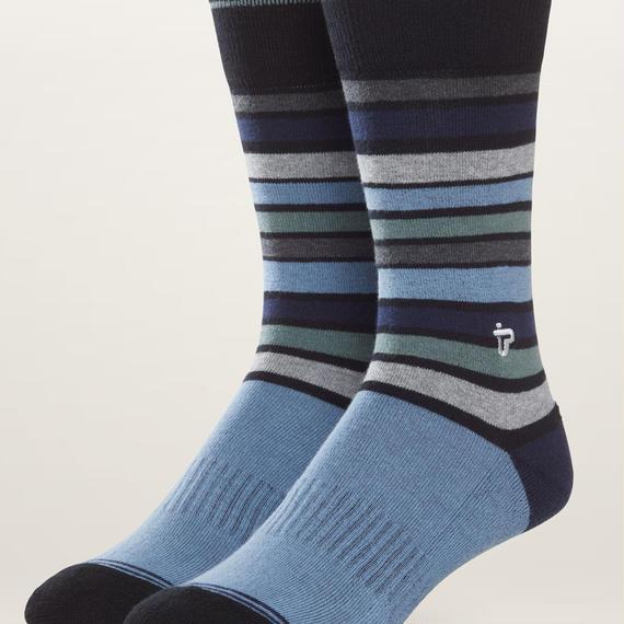 PACT(パクト メンズ)【EA1-MSP-ONS-1S】MEN'S-Premium Crew Sock-オーガニックコットン 靴下