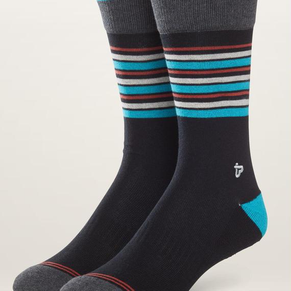 PACT(パクト メンズ)【EA1-MSP-BOS-1S】MEN'S-Premium Crew Sock-オーガニックコットン 靴下