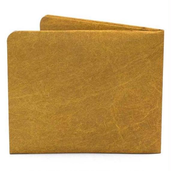 【SOL002BRO】paperwallet/ペーパーウォレット-Solid Wallet-BROWN タイベック素材 紙の財布