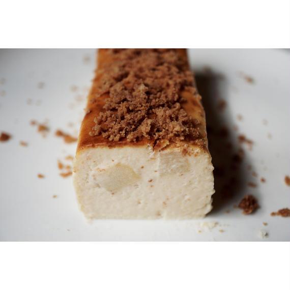 『cheese cake』-林檎とミックスクランブルのチーズケーキ- ※10/19(金)発送分