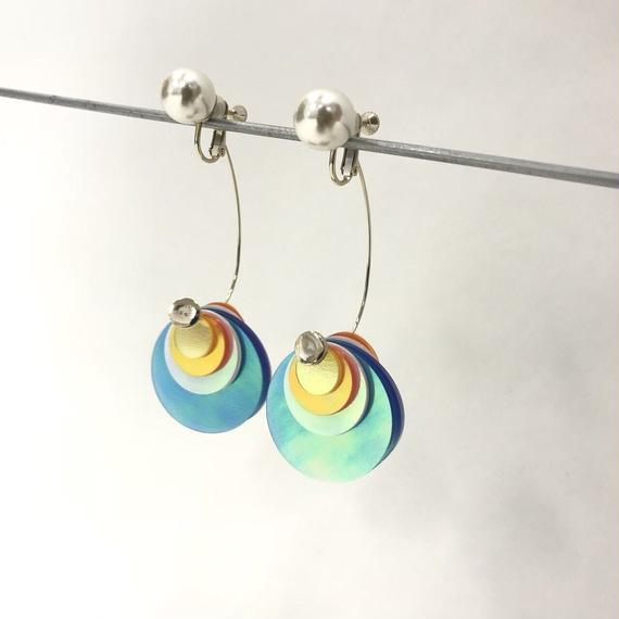 PEARL SPUNGLE EARRINGS