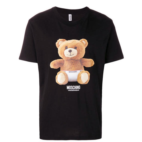 【MOSCHINO】 MENS  LOGO OVER TEE