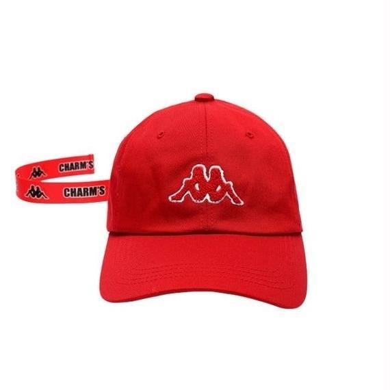 【CHARM'S×KAPPA】LANYARD CAP RED