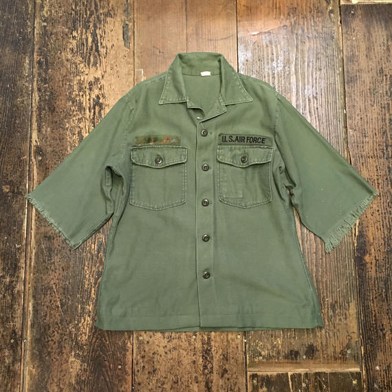 [USED] vintage US ARMY 袖フリンジ!