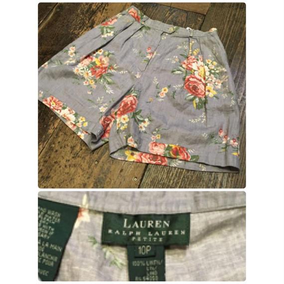[USED] Ralph Laurenさわやか LINEN Shorts!