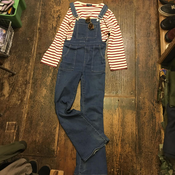 [USED] ピタッと形がきれい!Stretch DENIM Overall