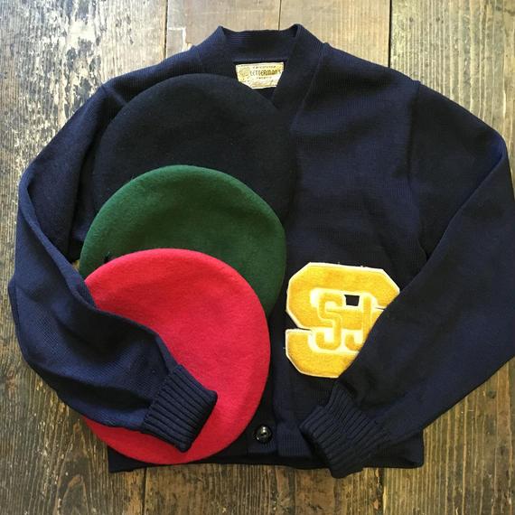 [SELECT] ミリタリーベレー帽