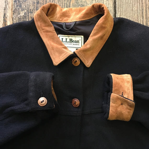 [USED] VINTAGE  L.L.Bean WOOL JKT