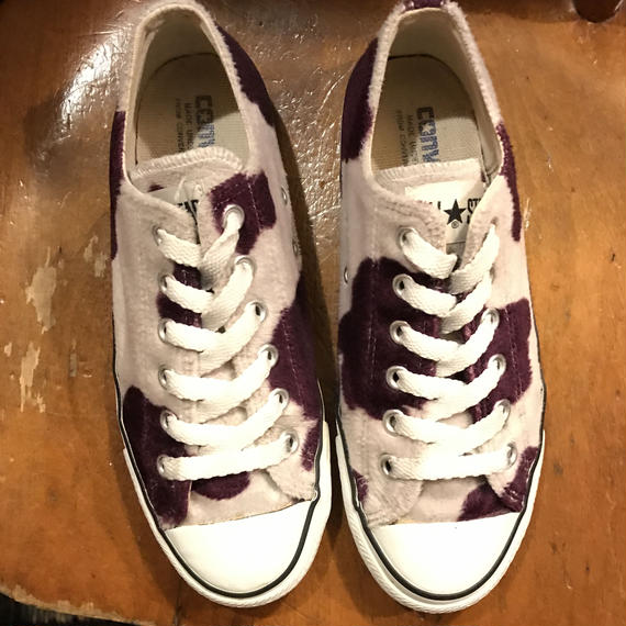 """[USED] 90's 牛柄 ALLSTAR Lo """"made in JAPAN"""""""