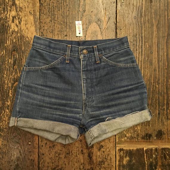 [USED] 80's levi's !!! Denim shorts