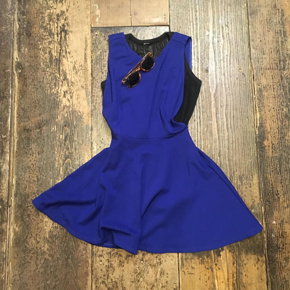 [USED] Sexy Blue ONE PIECE