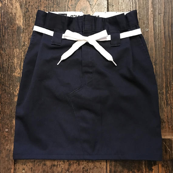 [GARDE-Nworks] ReMake Dickies BONTAN SKIRT Navy