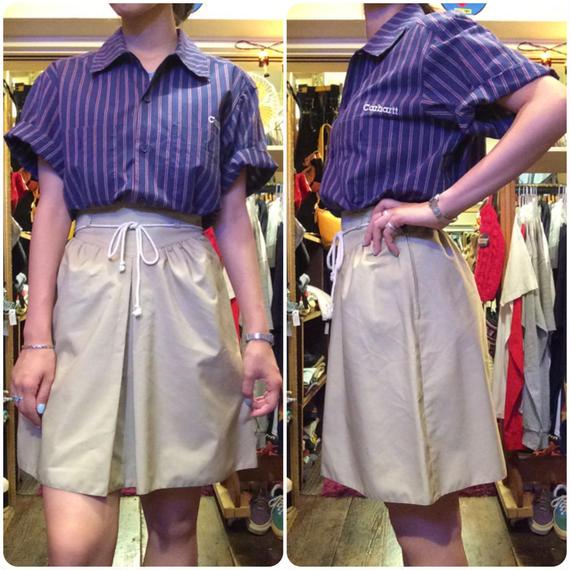 [USED] ガールスカウト風スカート