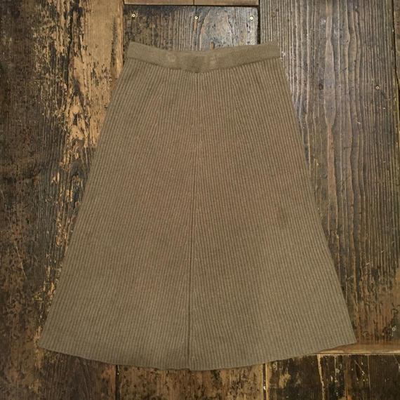 [USED]  KNITのフレアスカート