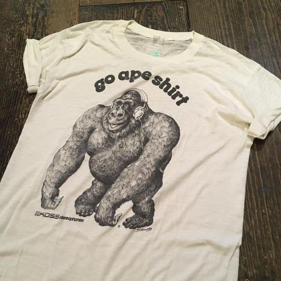 """[USED] vintage Tee """"go ape shirt"""""""