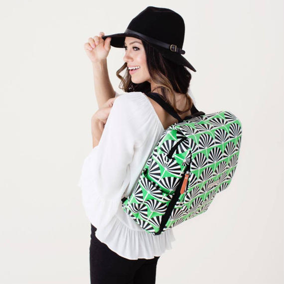 ペチュニアピックルボトム Boxy Backpack  Playful Palm Springs BBGL-508-00