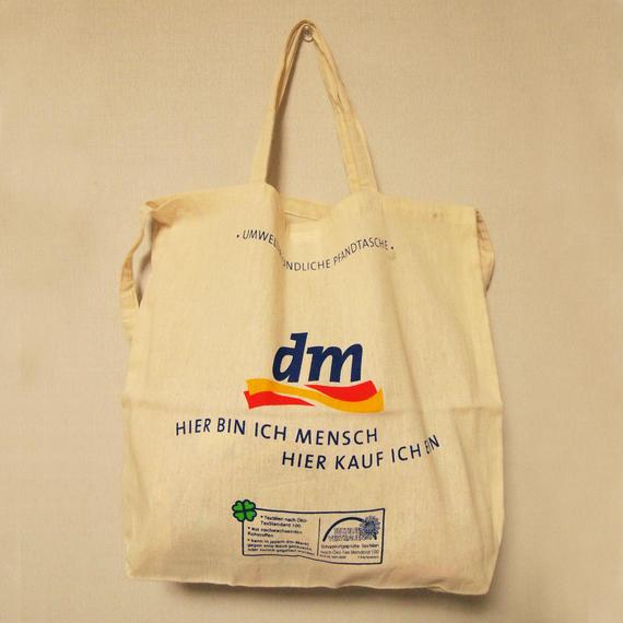 ドイツのエコバッグ dm