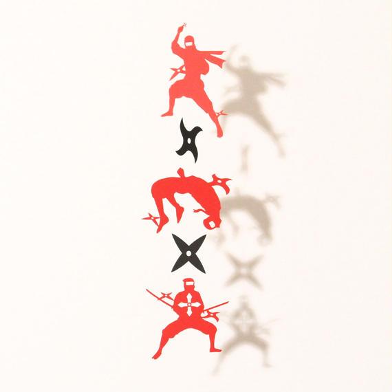 忍者手裏剣「RED」