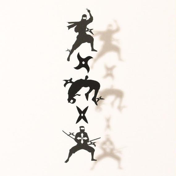忍者手裏剣「BLACK」