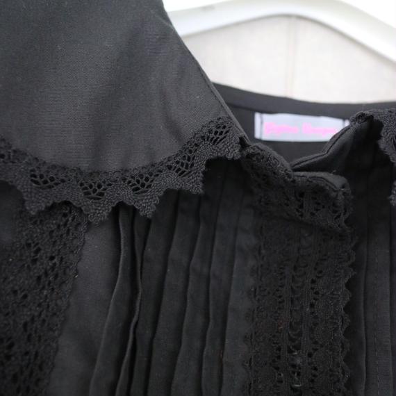 Gigina unique girl dress black